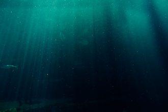 Une photo symbolisant la profondeur des océans