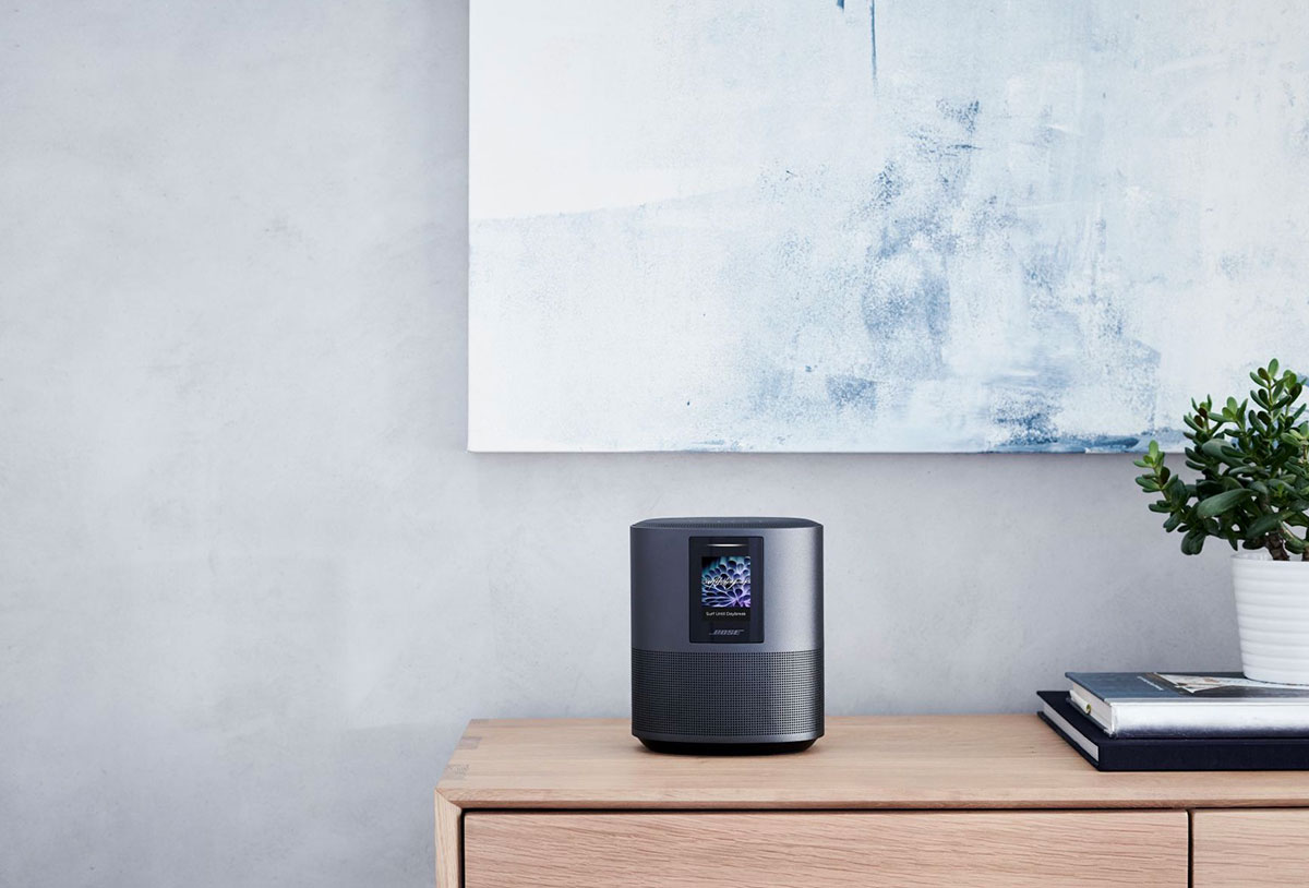 La Bose Home Speaker 500 dans son habitat naturel