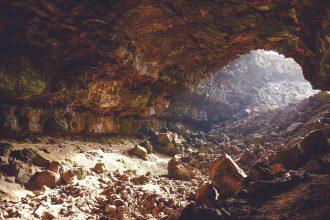 Un souterrain en plein désert