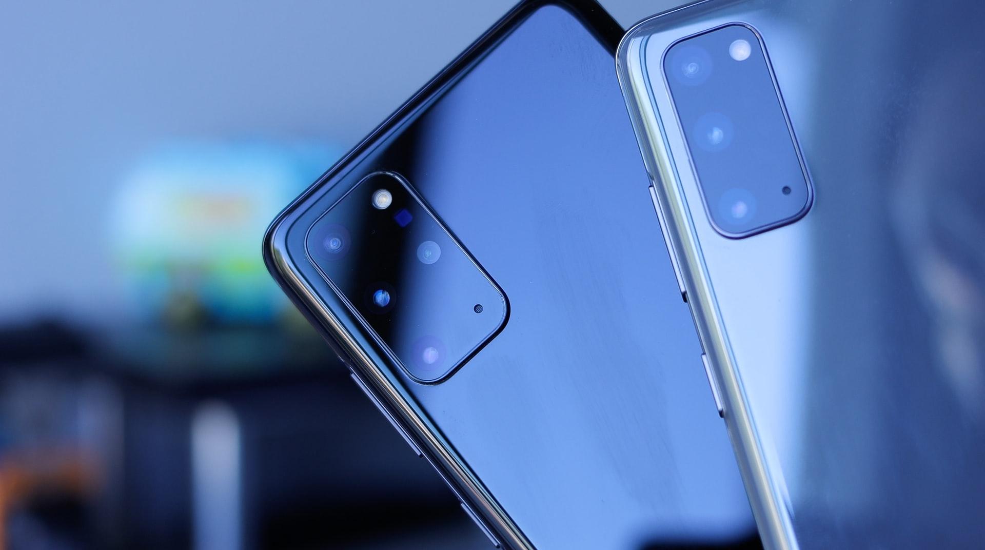 Le Galaxy S20, en deux couleurs
