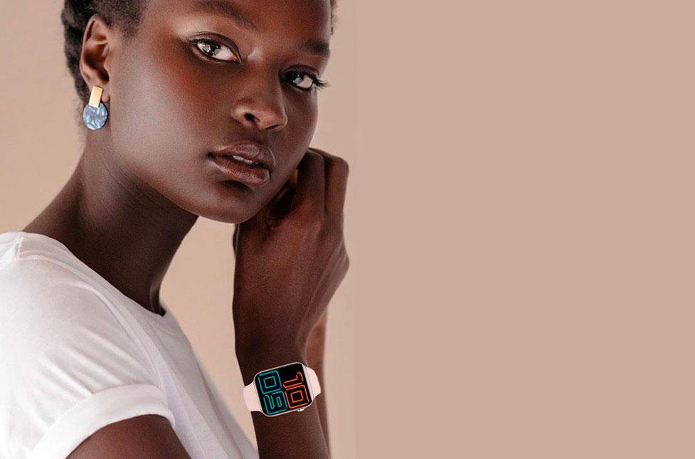 L'Elephone W6, une petite montre très élégante