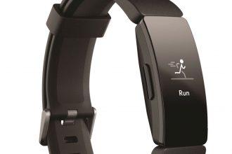 Le Fitbit Inspire HR, le plus compact et discret des deux