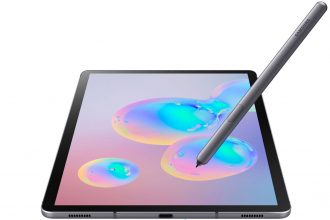 La Galaxy Tab S6 et son stylet