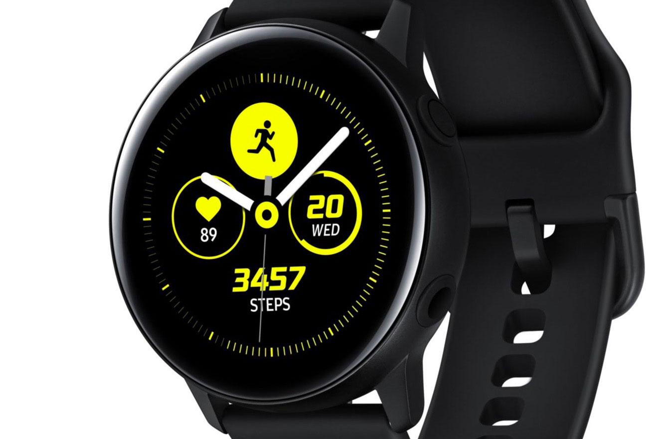La Galaxy Watch Active et son look très discret