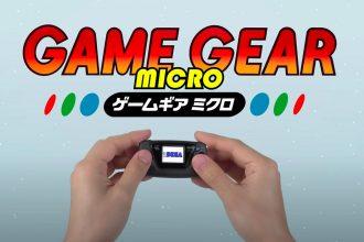 La Game Gear Micro est vraiment micro