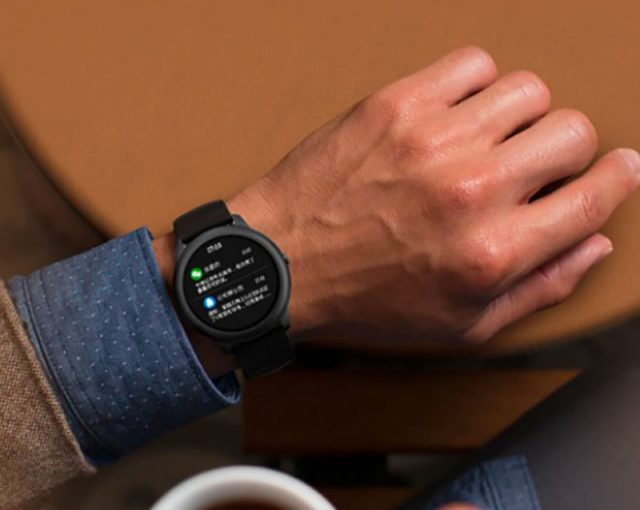La Haylou Solar, une montre connecté au design minimaliste