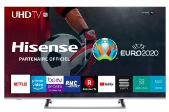 Un téléviseur de marque HiSense
