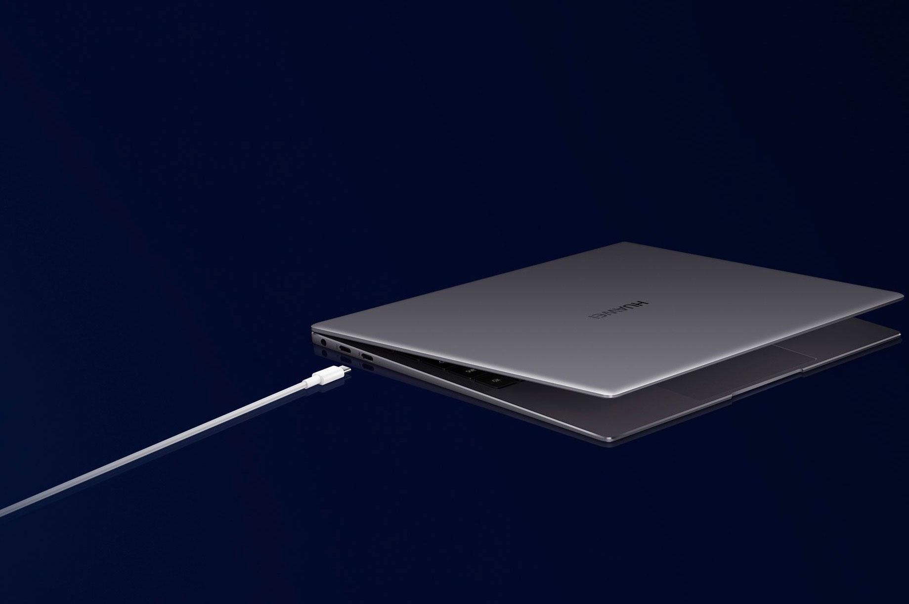 Le Huawei Matebook X Pro (2020) propose des finitions soignées