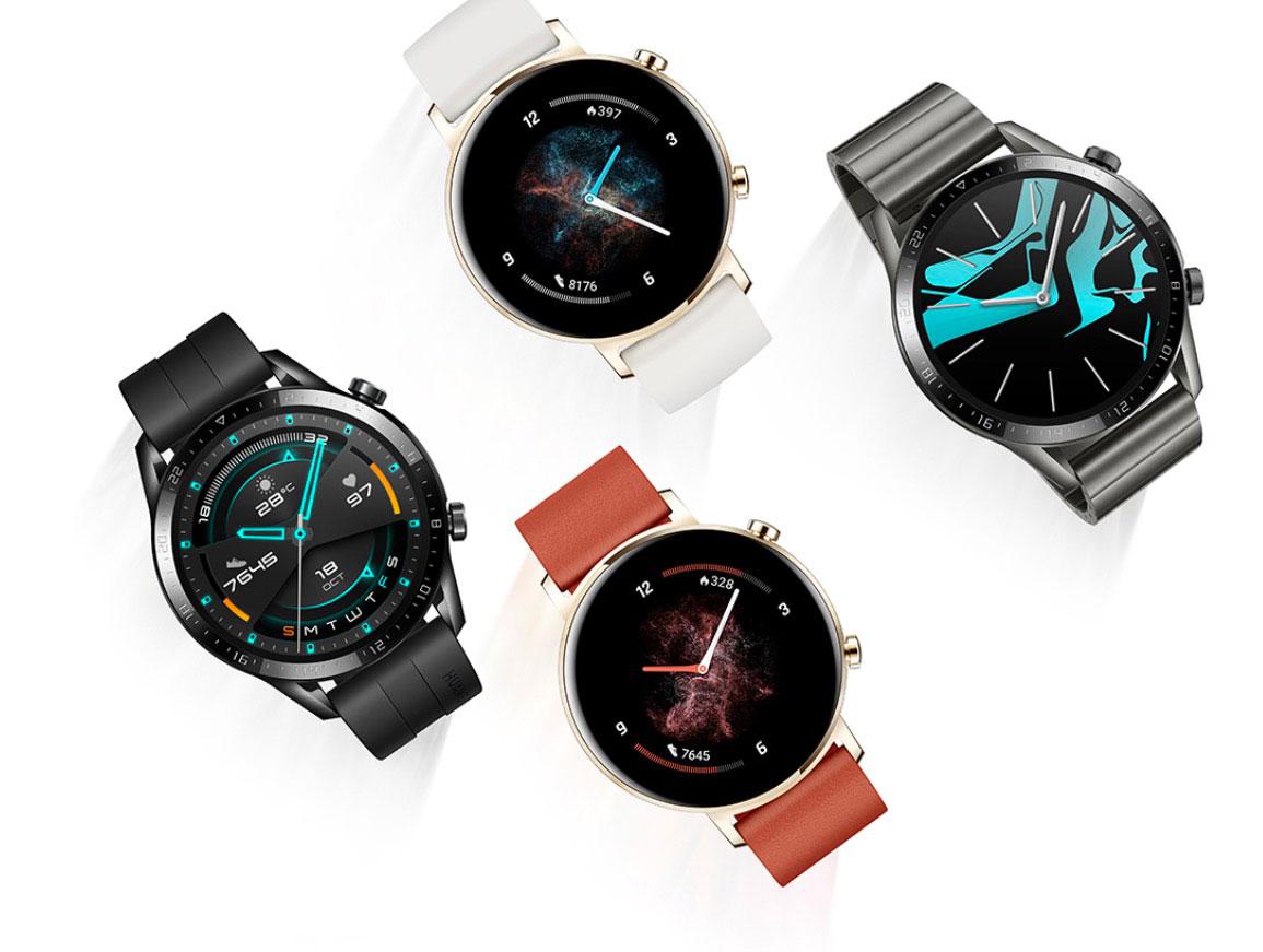 La Huawei Watch GT 2 et ses différents coloris
