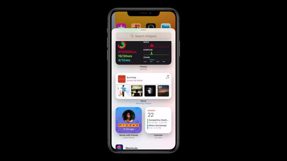 Les widgets changeront drastiquement la manière dont nous utilisons iOS