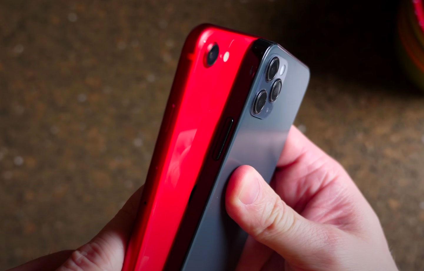 Tiens, les maquettes de l'iPhone 12 sont de sortie - capture YouTube