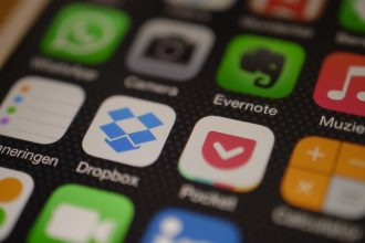 L'icône de l'application Dropbox