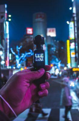 La DJI Osmo Pocket, la caméra nomade par excellence