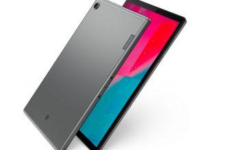 La Lenovo Tab M10+ a un look sympa