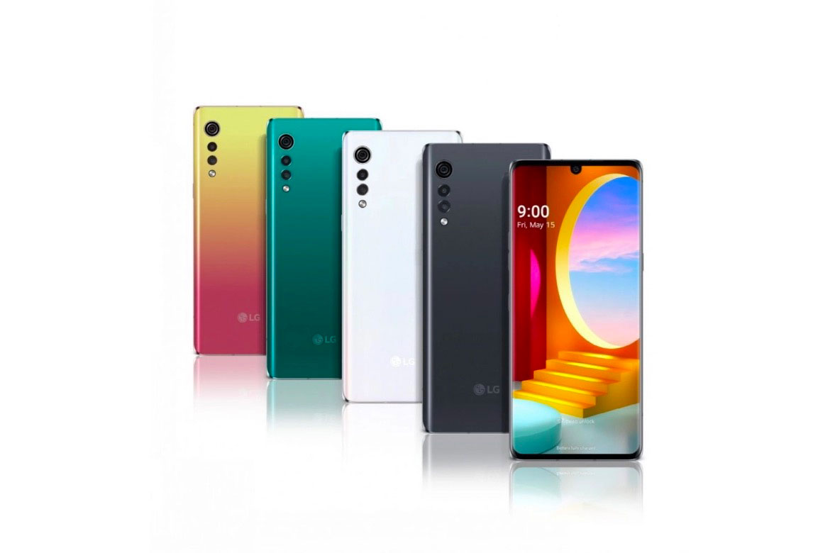 Le LG Velvet se décline en plusieurs coloris