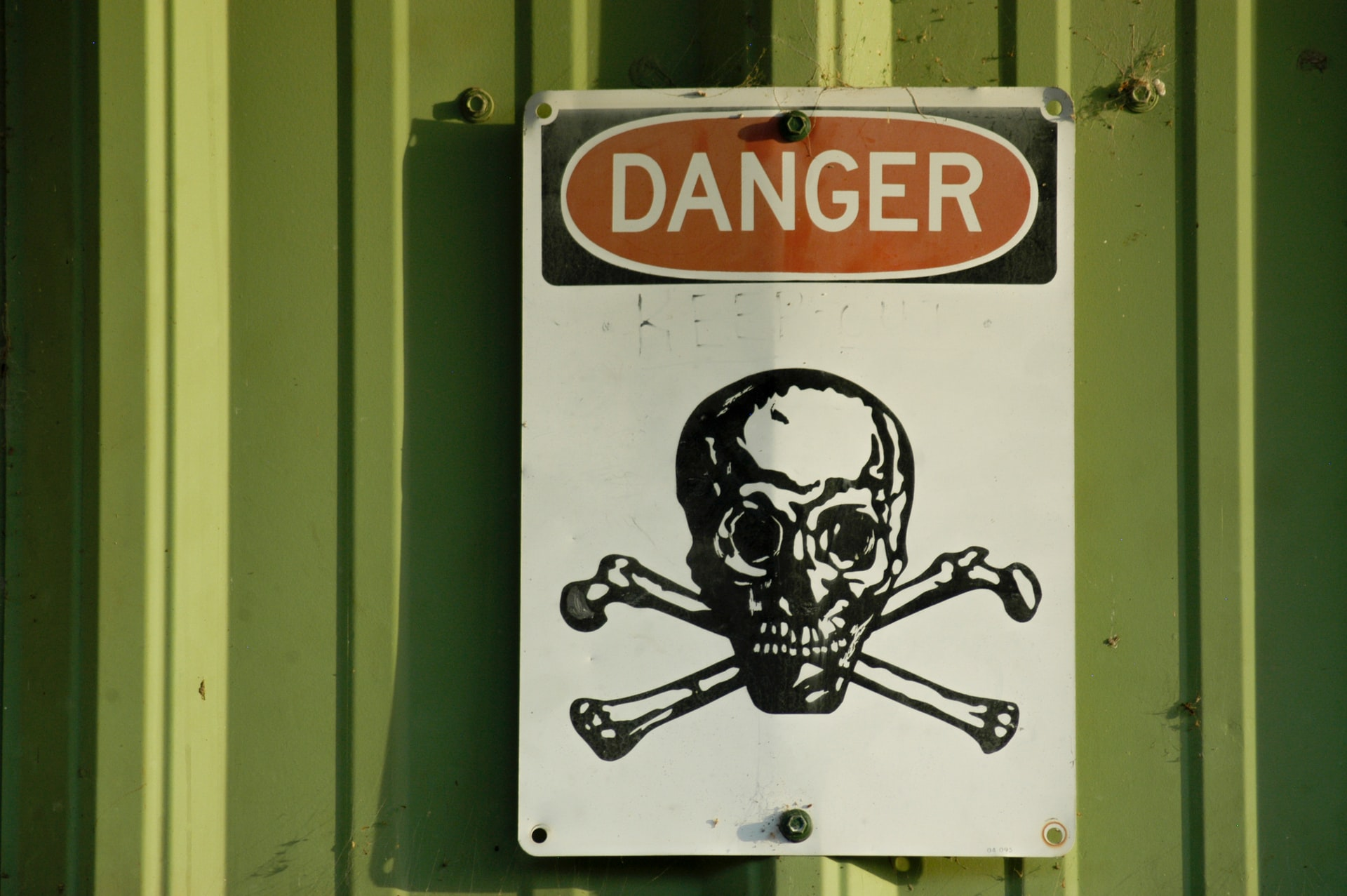 Attention, danger