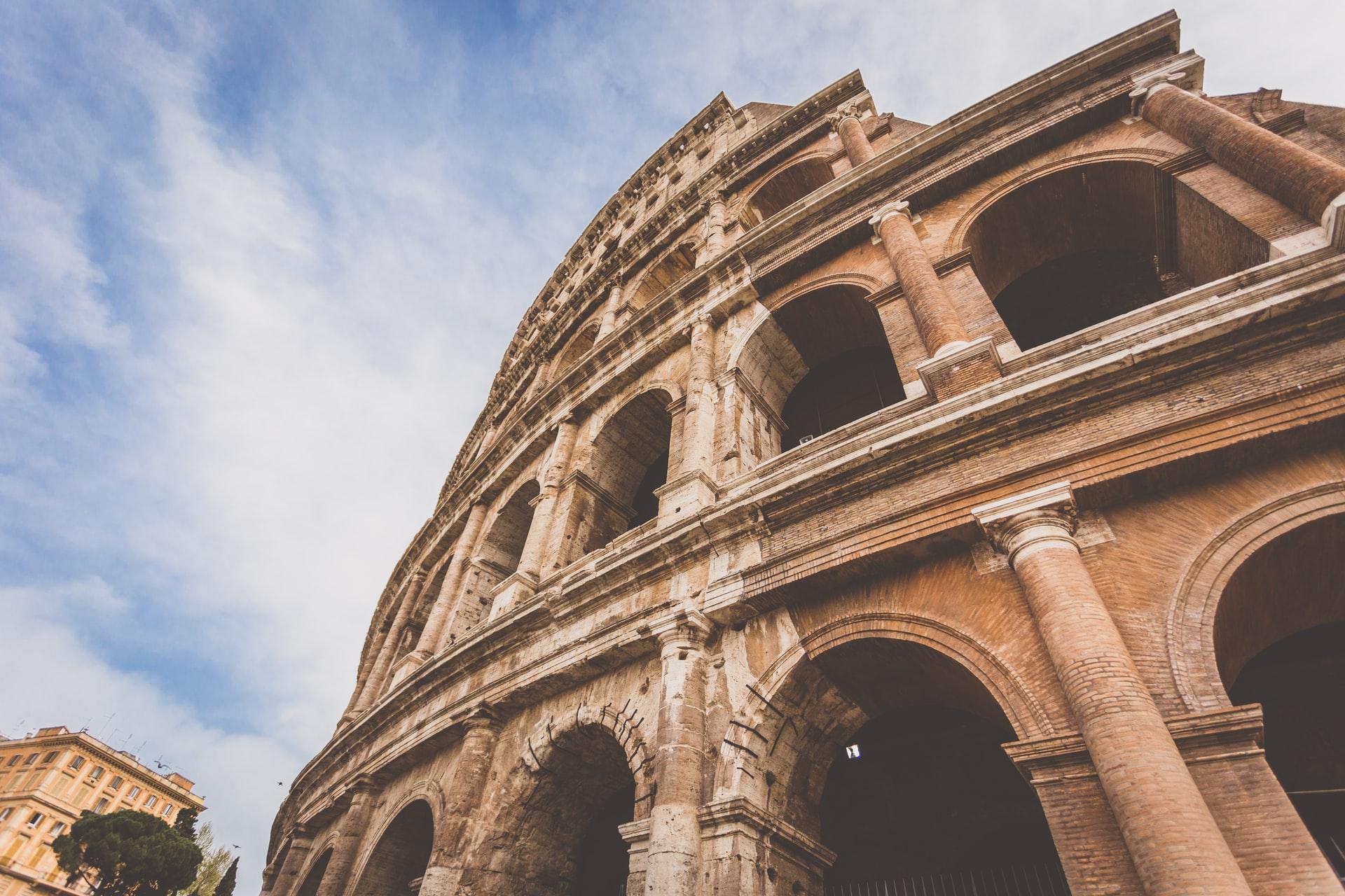 Une photo du Colisée de Rome