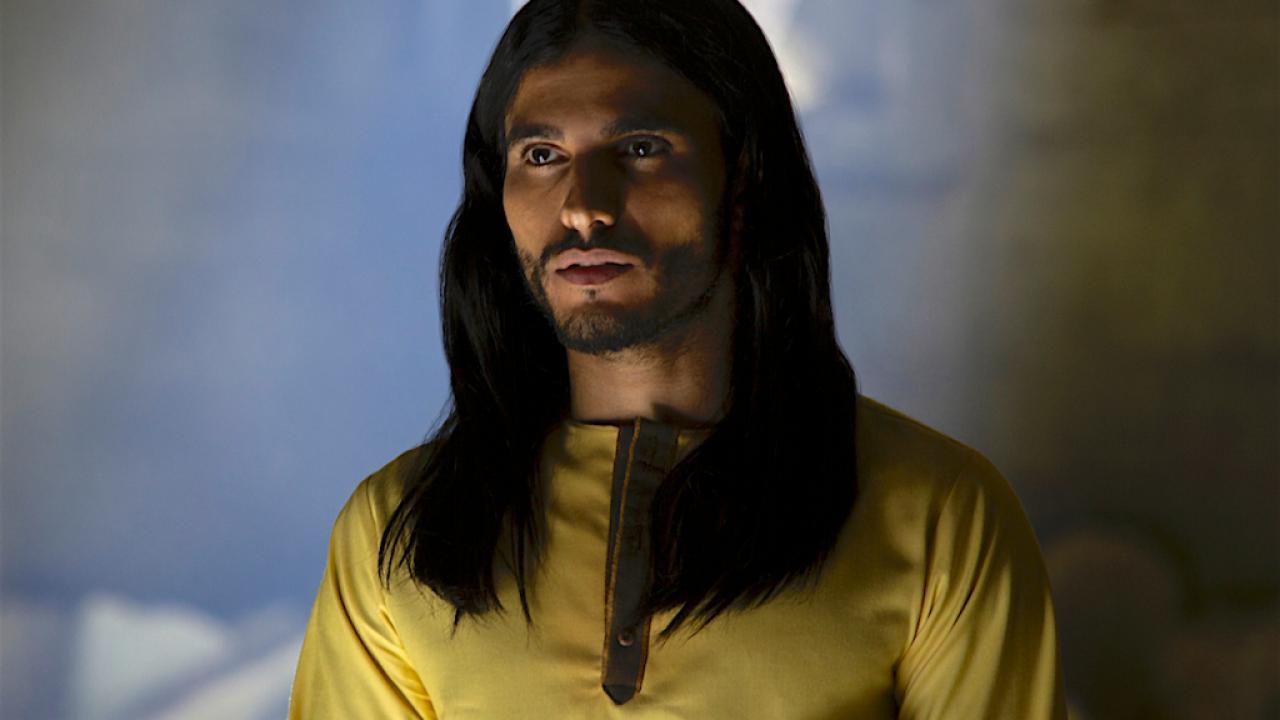 Un extrait de la série Messiah sur Netflix