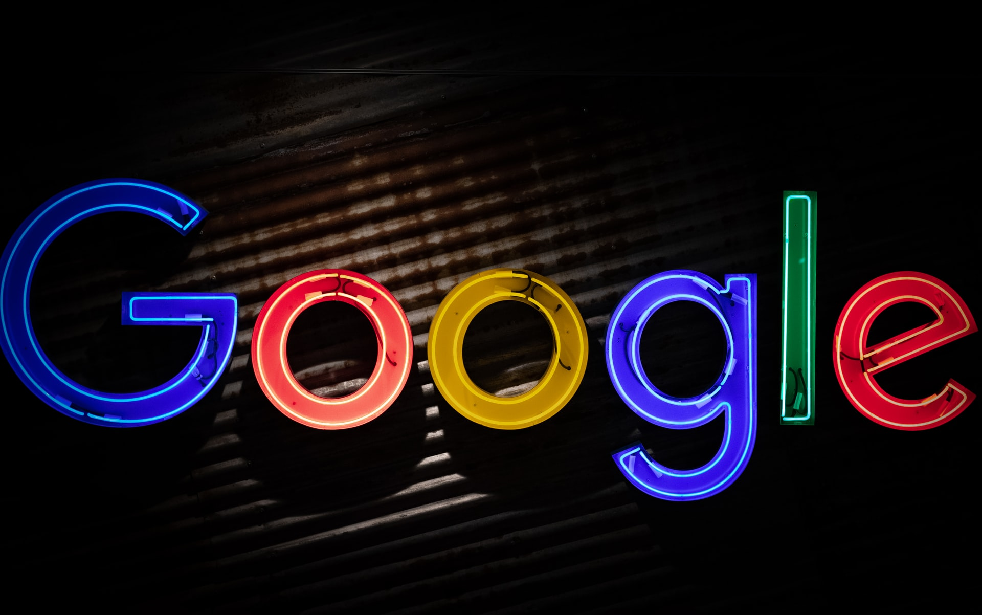Le logo de Google en lettres colorées