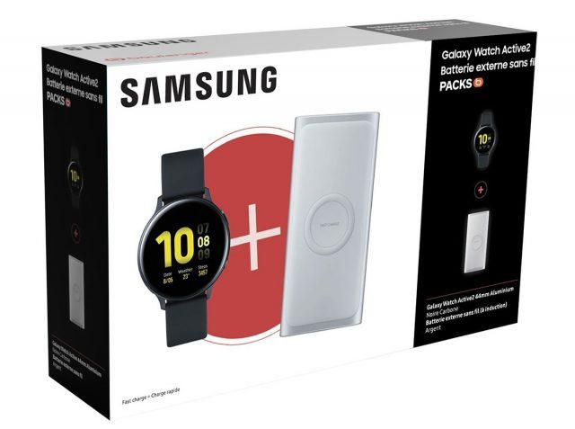 La Galaxy Watch Active 2 44 mm et la batterie externe à 299 € chez Boulanger