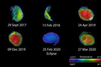 Phobos capturé par les sondes de la NASA
