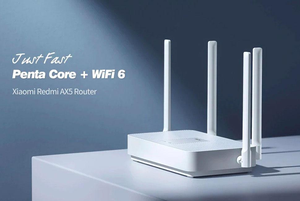 Le Xiaomi Redmi AX5, un routeur WiFi 6 à prix cassé
