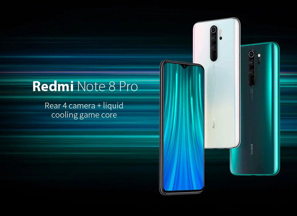 Le Redmi Note 8 Pro et son bel écran borderless