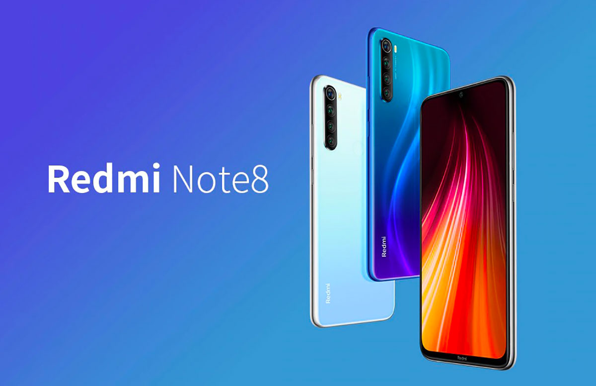 Le Redmi Note 8 et ses différents coloris