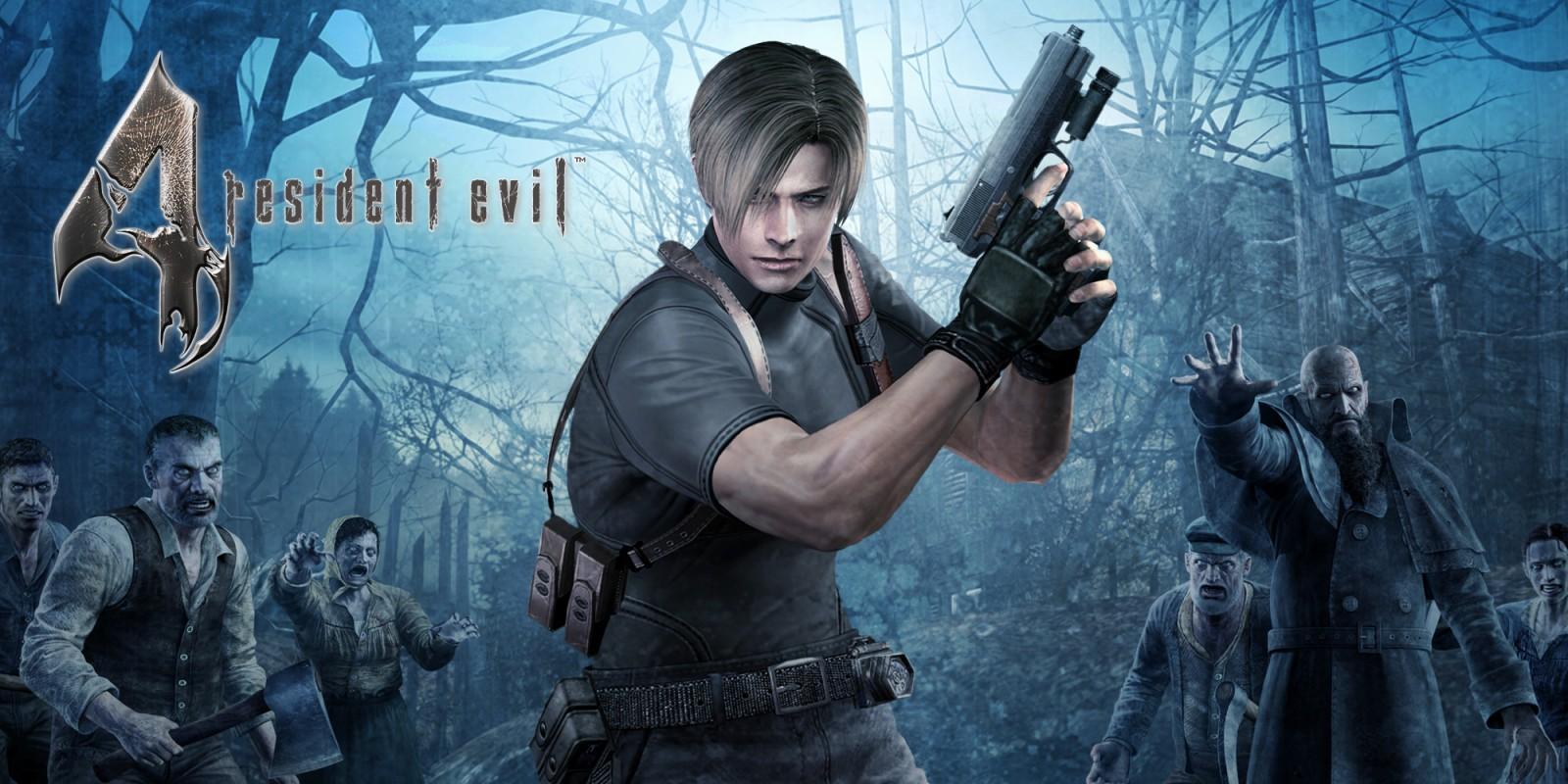 La jaquette de Resident Evil 4 sur Switch