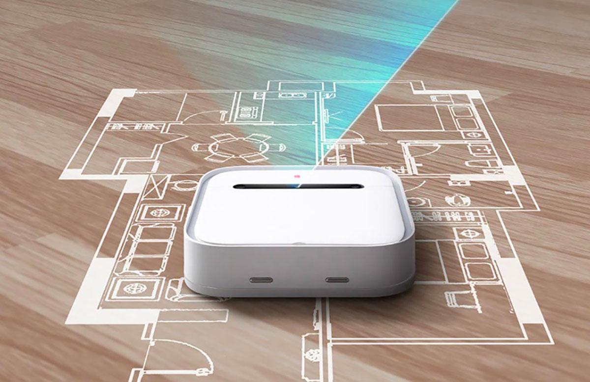 Le robot aspirateur Xiaomi en pleine action