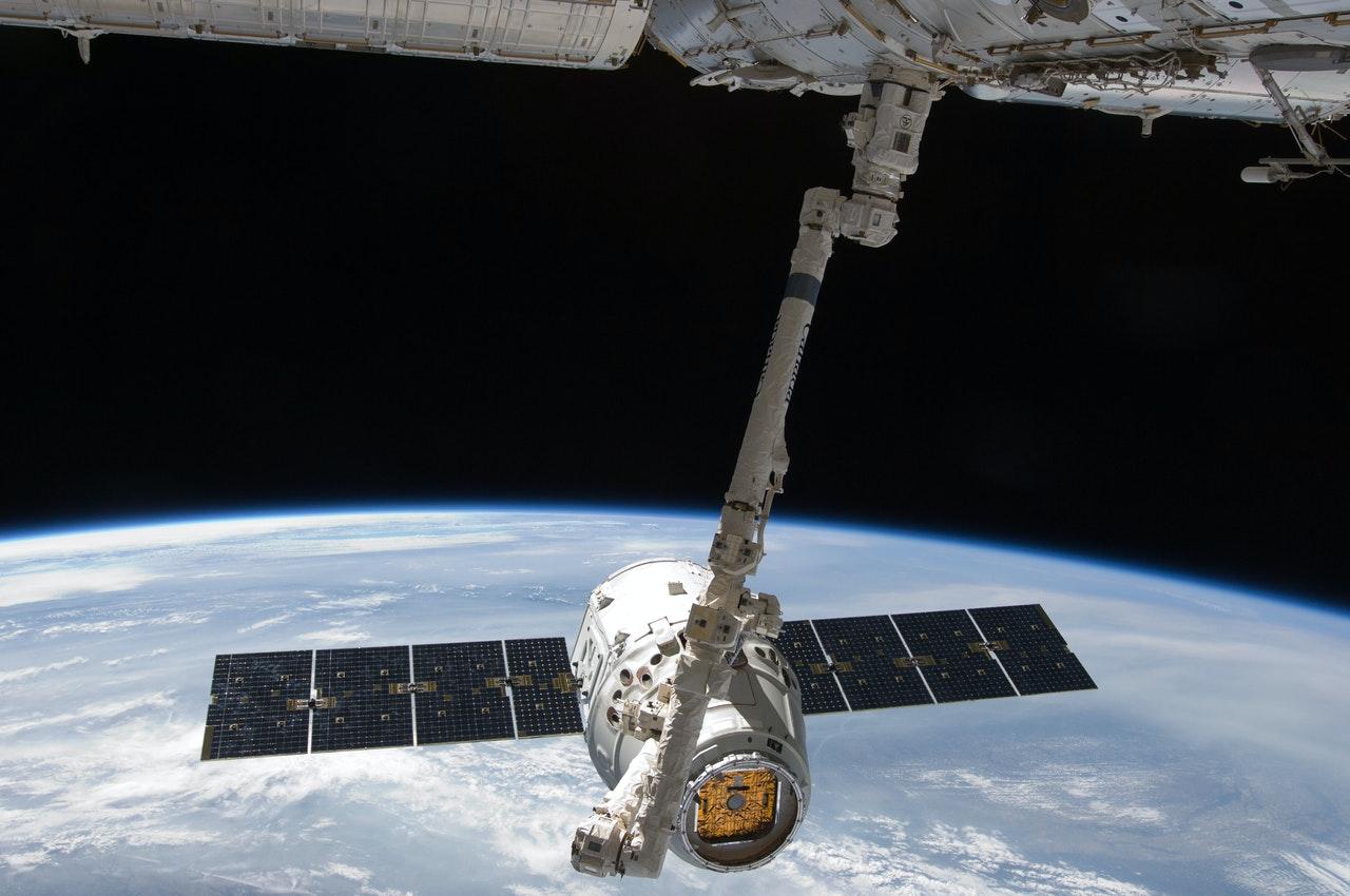 Une vue de l'ISS