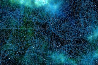 Un réseau neuronal, représentation de l'intelligence