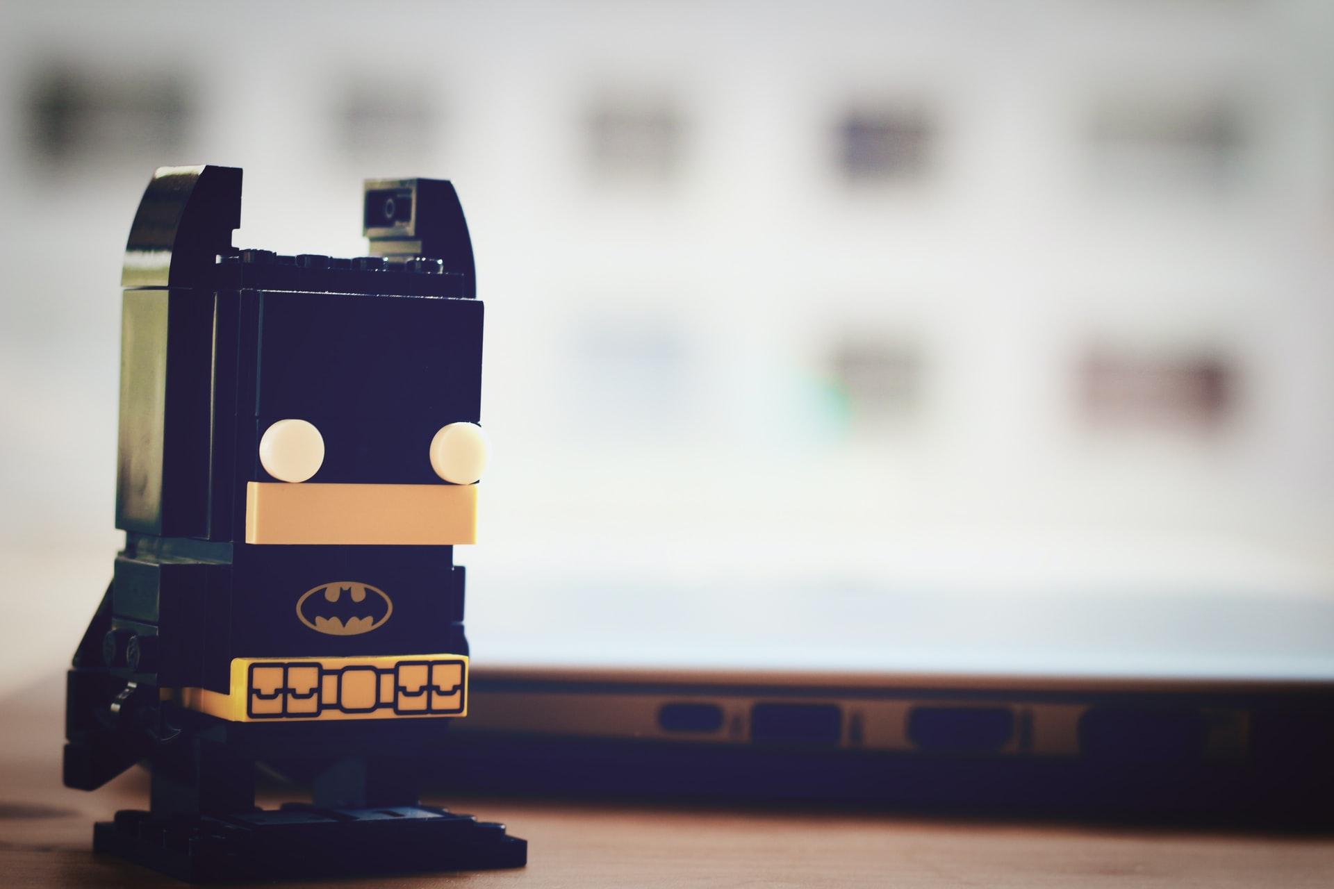 Une figurine à l'effigie de Batman