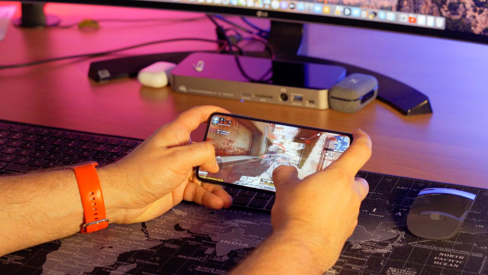 Le Redmi Note 9 Pro fait tourner les jeux les plus gourmands
