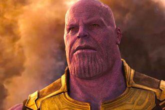 Le personnage de Thanos - Crédits Marvel