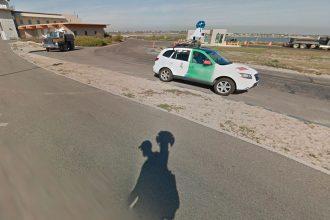 Quand un Trekker croise la route d'une Google Car