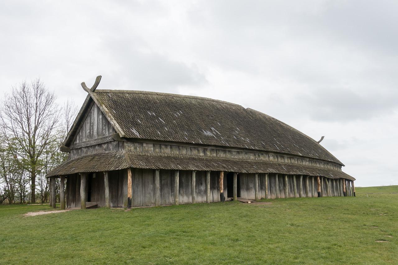 Une habitation viking