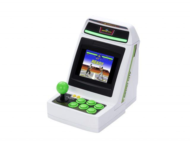 SEGA annonce la toute petite borne d'arcade Astro City Mini