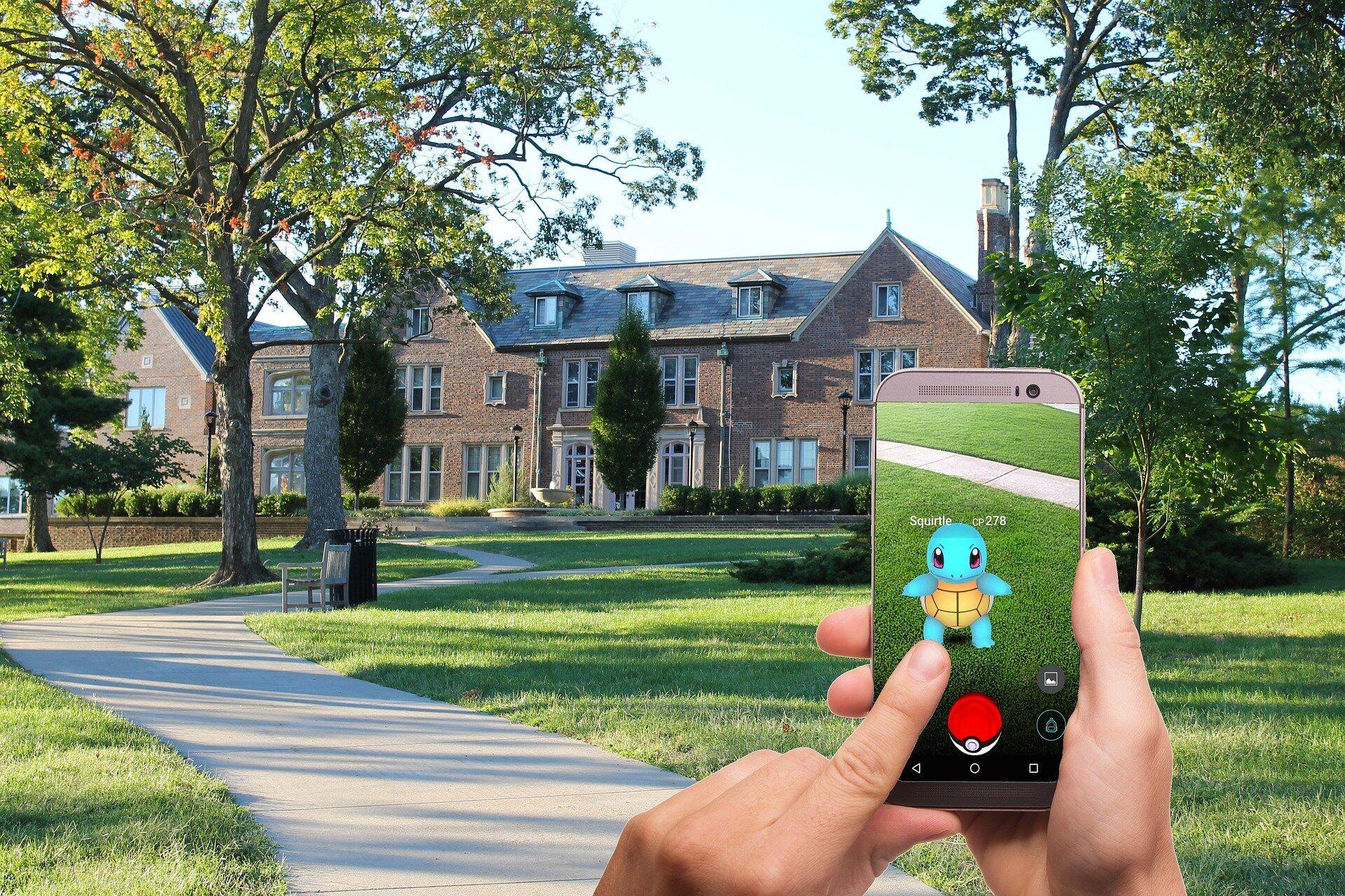 Pokémon Go sur un smartphone