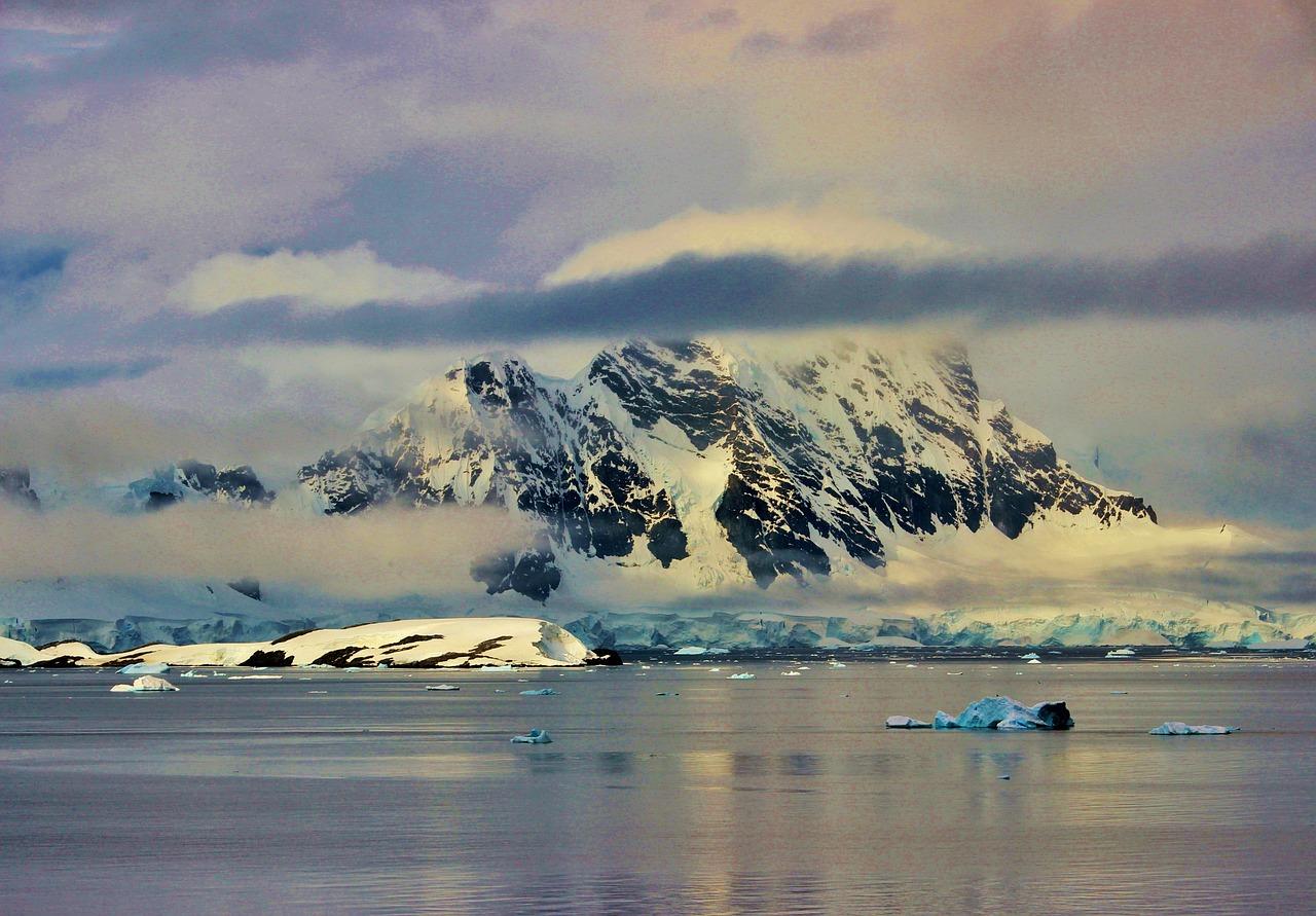 Une photo de l'Antarctique