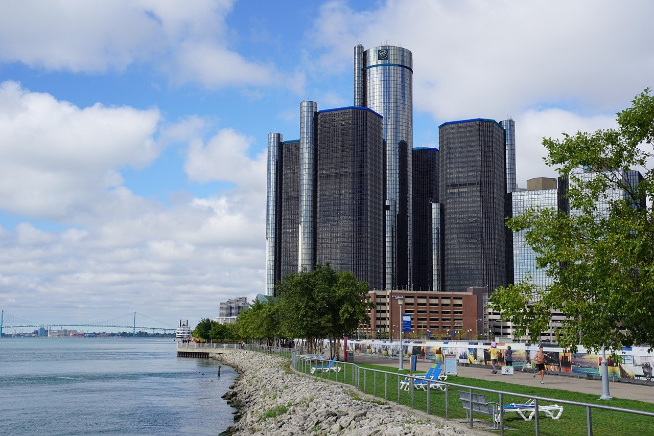 Immeuble GM Renaissance de Detroit