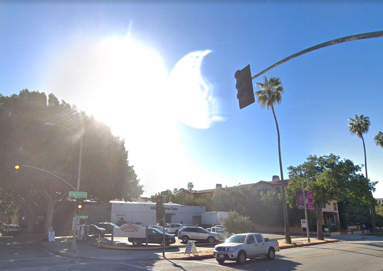 Sacré éclat lumineux, pas vrai ? - Crédits Google Maps