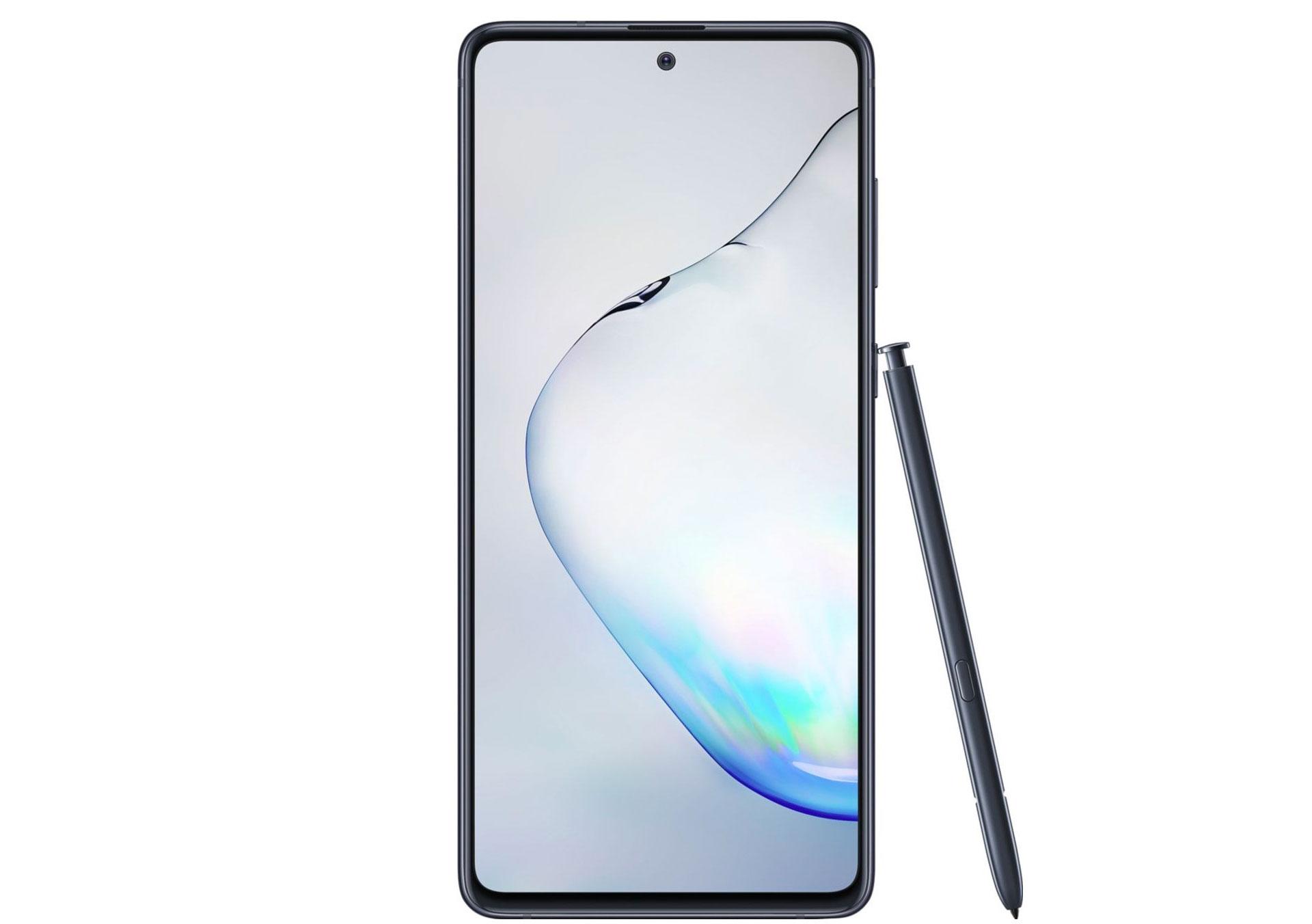 Le Galaxy Note 10 Lite  et son stylet