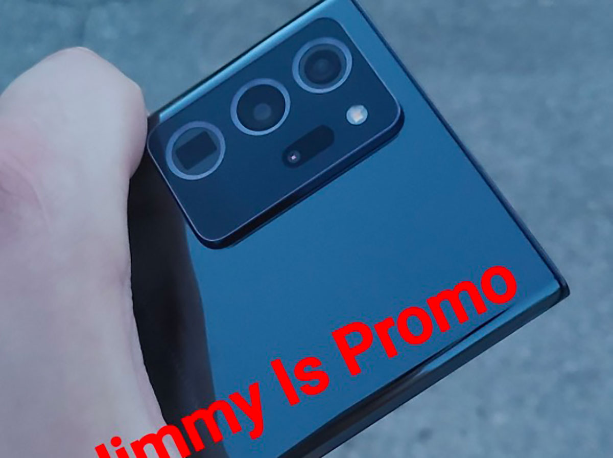 Le Galaxy Note 20 Ultra en version noire
