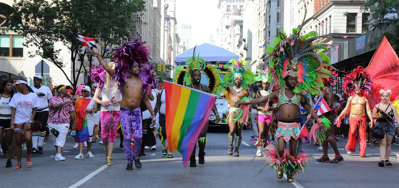 Une parade Gay Pride