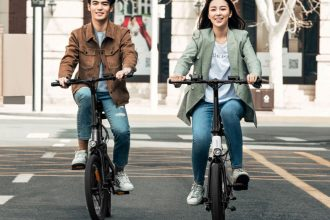 Le Himo Z20 , un chouette petit vélo de ville électrique