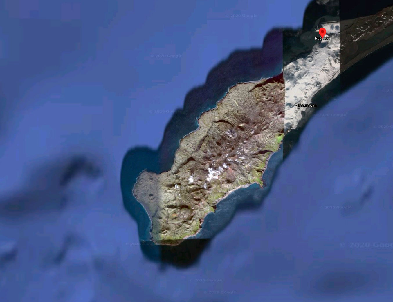 Drôle d'île, n'est ce pas ?