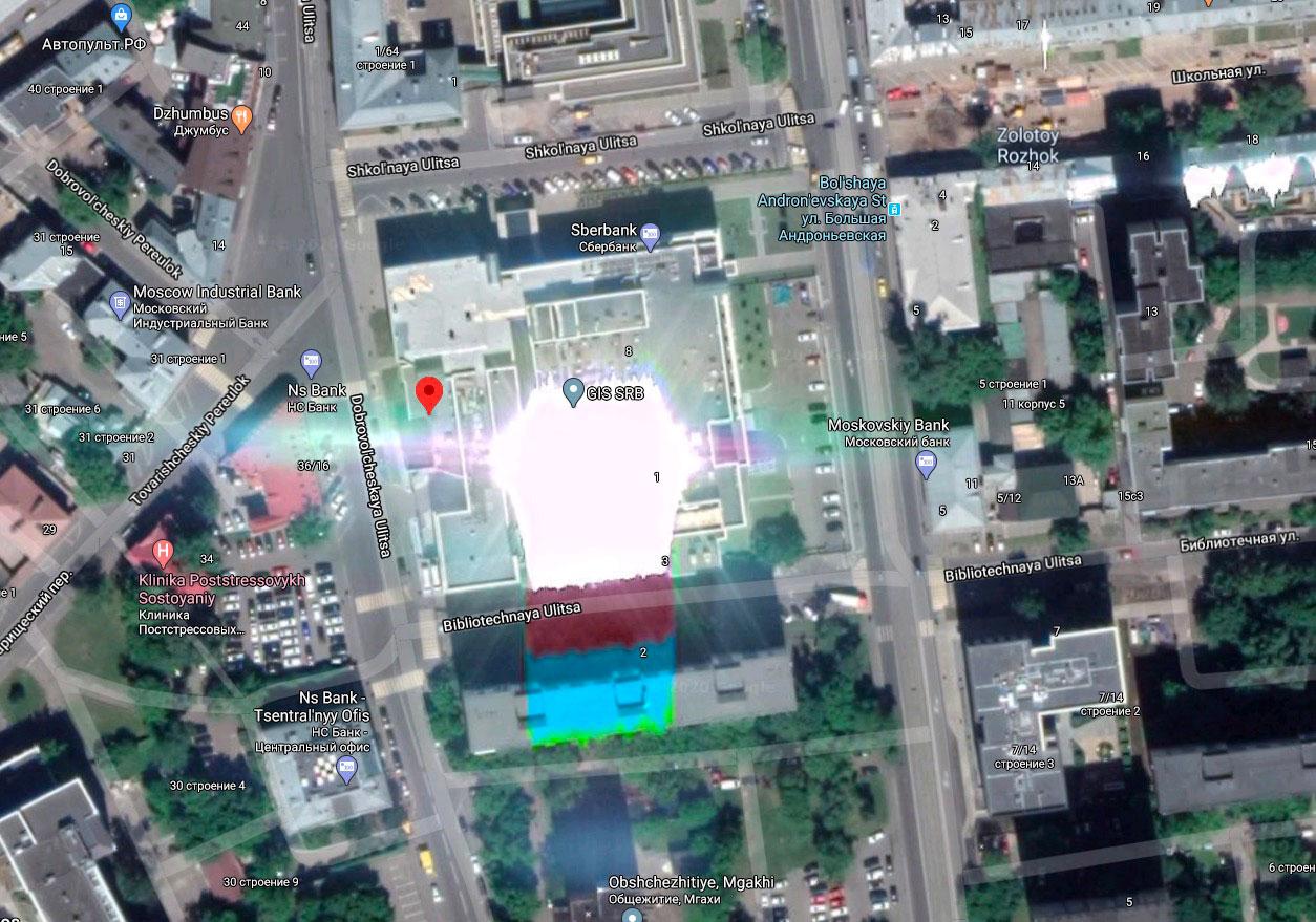 Certains immeubles sortent un peu de l'ordinaire - Crédits Google Maps