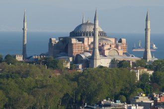 La basilique Sainte-Sophie d'Istanbul