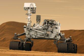 Le rover Curiosity de la NASA